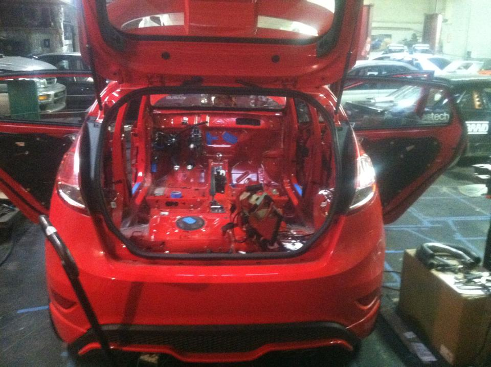 Parts Ford Fiesta >> 2014 Ford Fiesta ST Rally Car