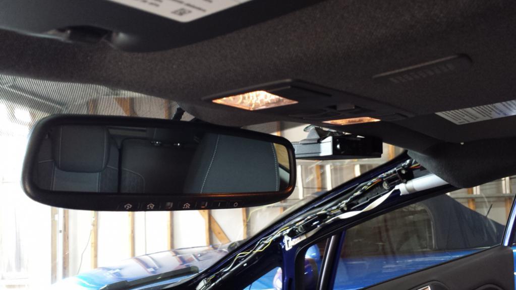 ... Radar Detector Hardwire DIY For Ford Fiesta ST   Valentine V1  Detector 20140315_172916 ...