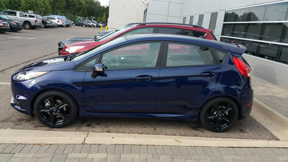 First Post I Purchased A 2016 Ford Fiesta St In Kona Blue 20170904 175638