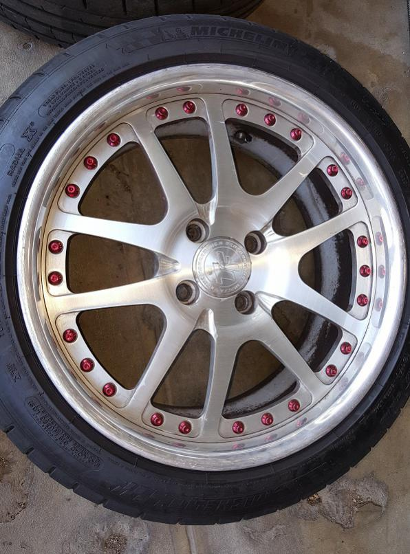 "Fiesta St Forum >> 17""x8"" True Forged Wheels w/ 215/45 Pilot Super Sport Tires"