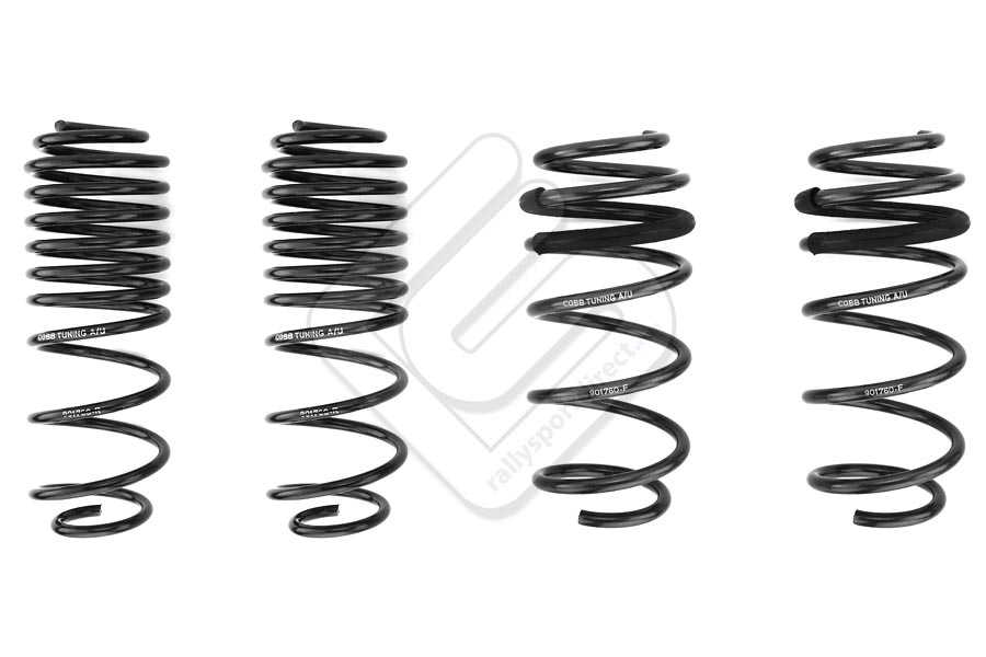 cobb tuning lowering springs ford fiesta st 2014