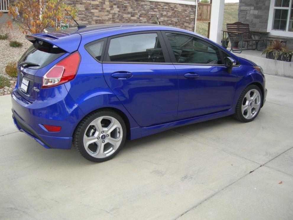 2014 Fiesta St In Performance Blue