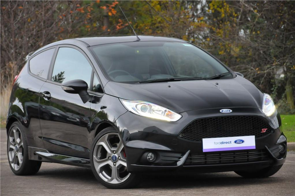 Petes Black Fiesta ST  UK