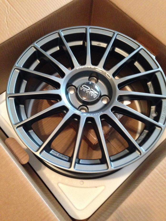 Rims And Tires Canada >> New Wheels! O.Z. superturismo LM