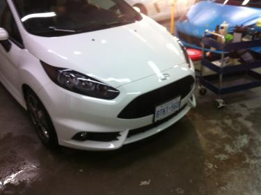 Fiesta St Forum >> Finally Ox white ST with some minor exterior mods