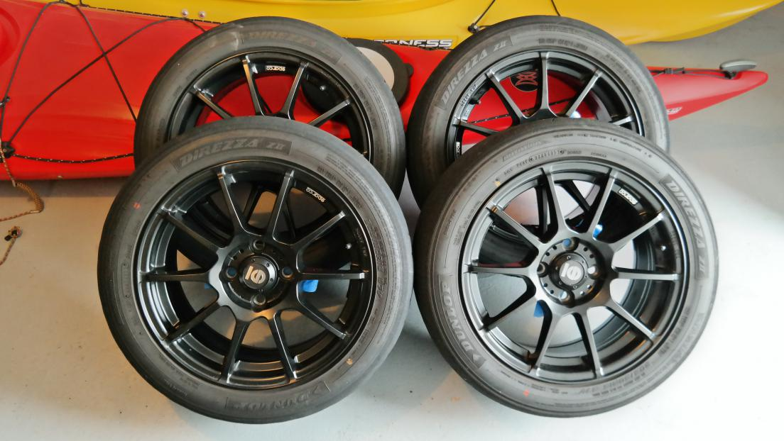 Fiesta St Forum >> (SOLD) Sparco Assetto Gara 16x7 Wheels Black Painted + New Direzza ZIIs