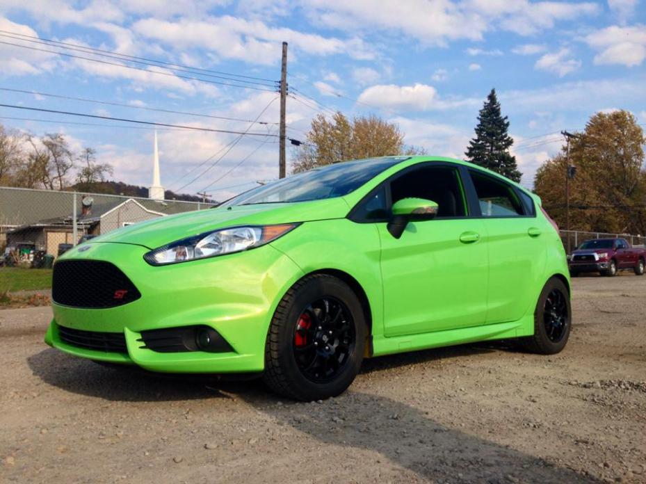 fiesta st wheels for the winter page 7